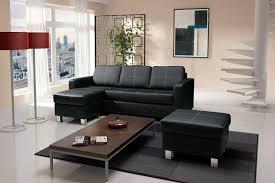canapé angle noir canapé d angle réversible design ines canapé d angle cuir