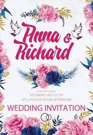 wedding flyer wedding invitation psd flyer template 9513 styleflyers