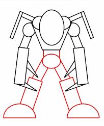 drawing cartoon monster
