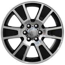 ford rims fr92 20 inch black machined wheels goodyear tires for ford f150