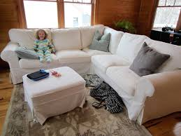 Pottery Barn Sofa Covers by Ideas Chic Pottery Barn Slipcovers For Better Sofa And Chair Look