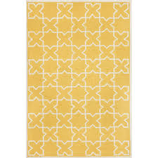 Moroccan Tile Rug Shop Capri Moroccan Tile Yellow Outdoor Door Mat 2ft X 3ft Liora