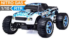 monster truck radio 1 10 2 4ghz exceed rc infinitive nitro gas