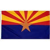 arizona state flag craft project arizona desert and state