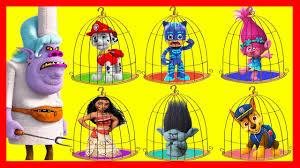 paw patrol jail rescue playset trolls hero poppy kitchen