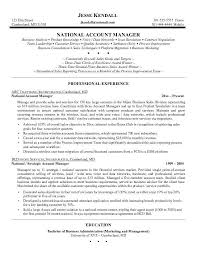 Sample Resume Of Sales Manager Sales Manager Resume Examples