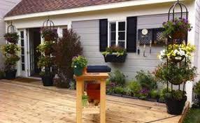 deck planter gains life hometalk