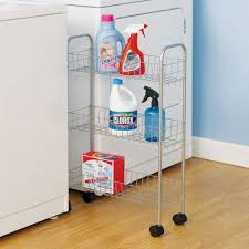 Laundry Room Storage Cart Rolling Laundry Room Storage Cart In Laundry Carts