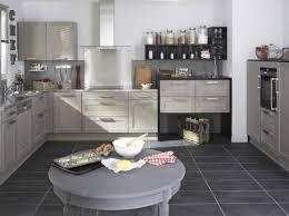 deco cuisine grise et idée décoration cuisine grise