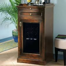 fridge that looks like cabinets wine cooler furniture cabinet custom black washed bank of cabinets