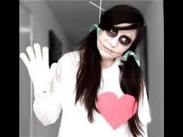 easy diy halloween costumes creepy doll makeup tutorial youtube voodoo doll diy halloween costume youtube