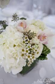 Cube Vase Centerpieces by Centerpieces Jade Violet Wedding Floral