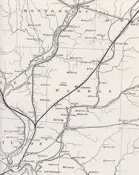 Ohio Canal Map by Lm U0026m Railroad Lebanon Ohio