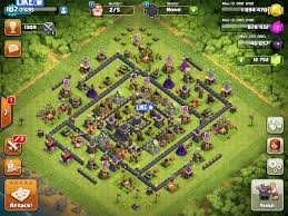 clash of clans farming guide mega cube maximized de protection base th8 post update anti