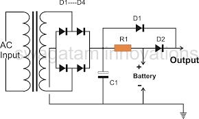 automatic led emergency light circuit diagram using ldr