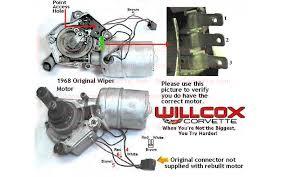 68 wiper motor with long hood corvetteforum chevrolet corvette
