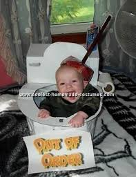 Funny Halloween Costumes Baby 26 Toilet Costume Ideas Images Costume Ideas