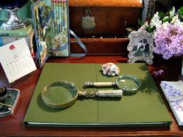 Decorative Desk Pads And Blotters by Parvum Opus Anatomy Of A Well Dressed Desk Part 1 The Desk Blotter