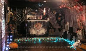 Halloween Fun House Decorations Best Haunted House Room Ideas Home Design Ideas