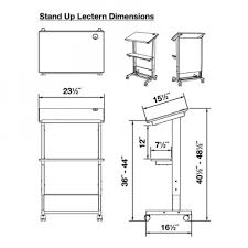 stand up adjustable lectern podium stand up desk store