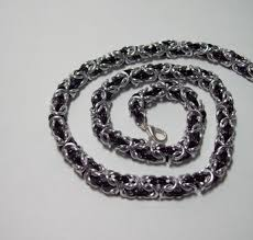 byzantine necklace images Chainmaille necklace byzantine necklace chainmail jewelry png