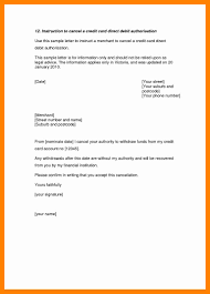 Cancellation Letter For Agreement 8 Letter For Cancellation Resumes Great