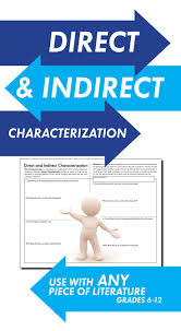 top 25 best direct and indirect characterization ideas on
