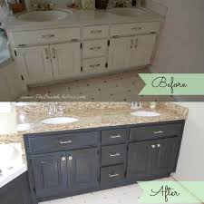 Bathroom Vanity Makeover Ideas by Bathroom Cabinet Redo Bathroom Paint A Bathroom Vanity With Redo