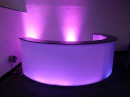 led mobile bar hire magic hire ltd sound u0026 light wedding led