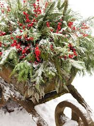 Vintage Christmas Decorations For Outside by 49 Best Wheelbarrow Images On Pinterest Christmas Time