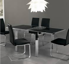expandable glass dining room tables expandable glass dining room