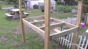 How To Build A Rabbit Hutch Out Of Pallets Building A Rabbit Hutch Part 1 Youtube