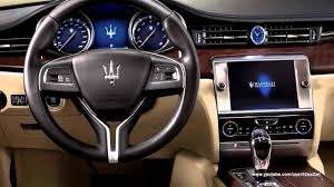 maserati quattroporte 2015 interior 2013 new maserati quattroporte interiors and exteriors tour youtube