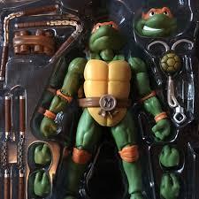 bandai sh figuarts teenage mutant ninja turtles michelangelo
