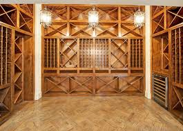 in floor wine cellar wine cellar with pull out wine racks transitional basement