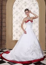 white ivory wedding dresses with color purple wine red royal