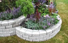 deerwood landscaping segmental wall system garden retaining