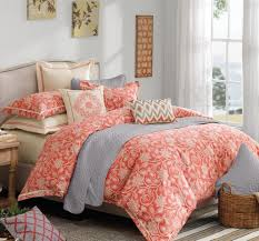 Aqua And White Comforter Bedroom Cute Coral Bedspread For Nice Decorative Bedding Design