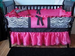 Pink Zebra Crib Bedding 17 Best Pink And Zebra Baby Bedding Images On Pinterest