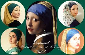 girl with a pearl earrings the wrapunzel girl with a pearl earring tribute tutorial with