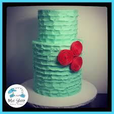rustic chic buttercream sweet 16 cake blue sheep bake shop