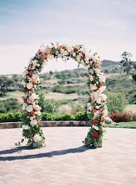 wedding arches flowers wedding wednesday on trend floral arches flowerona