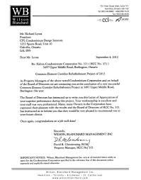 sample recommendation letter for property manager mediafoxstudio com
