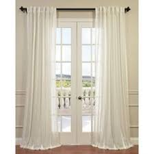 Tie Top Curtains White Sheer Curtain White Linen Drapes Rod Pocket And Tie Top Curtains