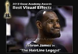 Nba Memes Lebron - never heard of it the 50 meanest lebron james hairline memes of
