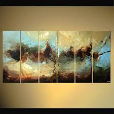 Decor Painting | painting multi panel abstract decor painting splash 5499