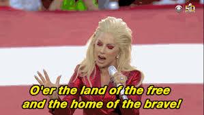 Lady Gaga Memes - lady gaga super bowl national anthem performance memes tweets