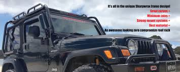 jku jeep sharpwrax tj jk jku jeep wrangler roof racks