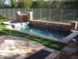 backyard ideas with pools and bbq backyard fence ideas