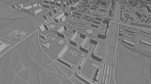 Bird View Map Glosm Opengl Map Renderer Demo